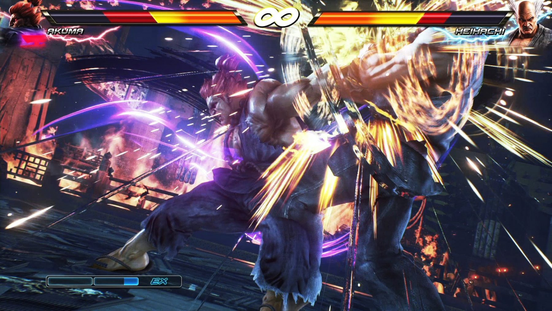 Download the hacked version of TEKKEN 7 for PS4 with update v1 12