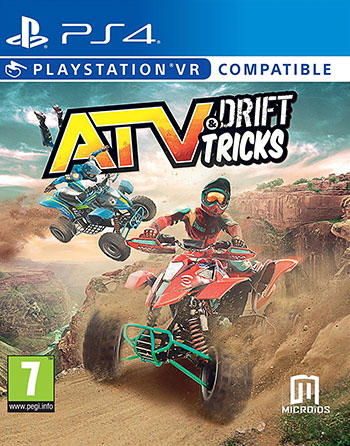Download the hacked version of ATV Drift and Tricks for PS4 pkg