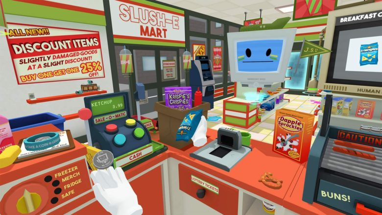 Download the hacked version of the Job Simulator for PS4 PKG